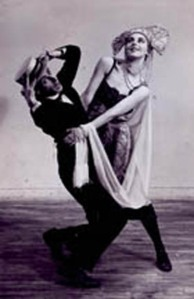 JAMES WARING and DEBORAH LEE dance The Vamp, probably Judson Church?