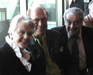 Angela Lansbury, BOB HEIDE, BOB DAHDAH, an Obies party