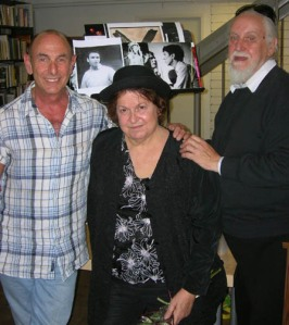 JOEL THURM, JACQUE LYNN COLTON, and moi at One Institute, L.A., June, 2007, before photos of our younger selves.